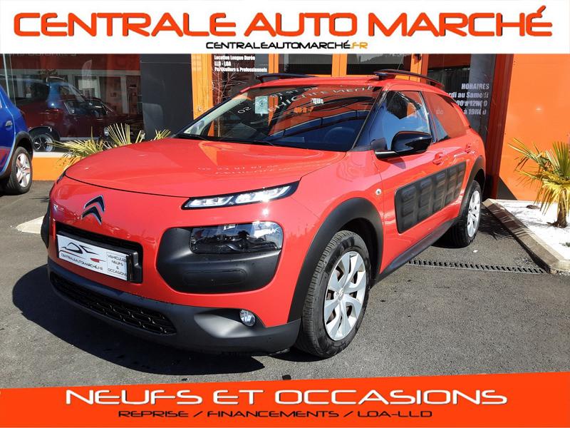 Photo 1 de l'offre de CITROEN C4 CACTUS PureTech 82 Feel  à 9990€ chez Centrale auto marché Périgueux