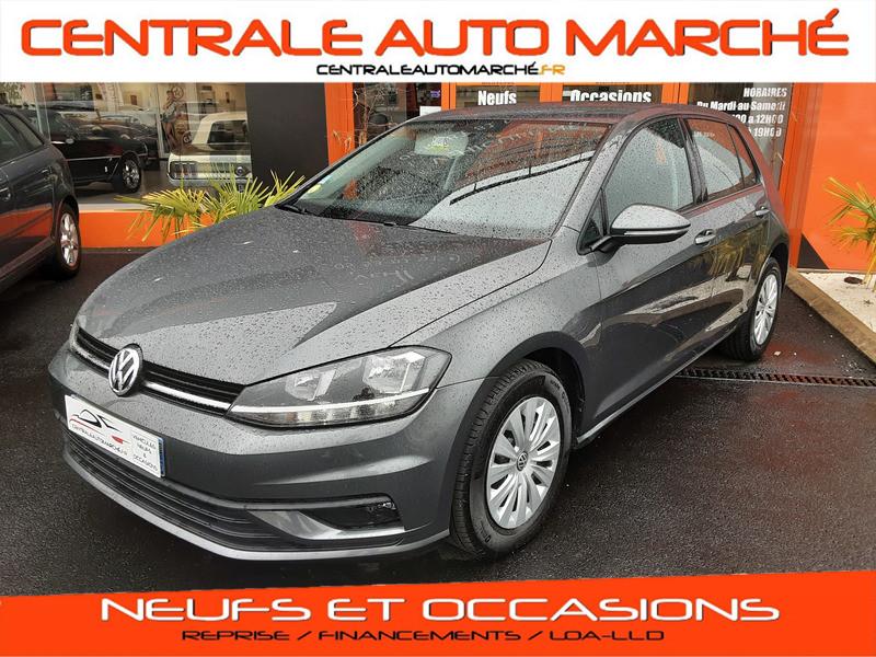 Photo 1 de l'offre de VOLKSWAGEN GOLF VII 1.6 TDI 115 BlueMotion Trendline à 13490€ chez Centrale auto marché Périgueux