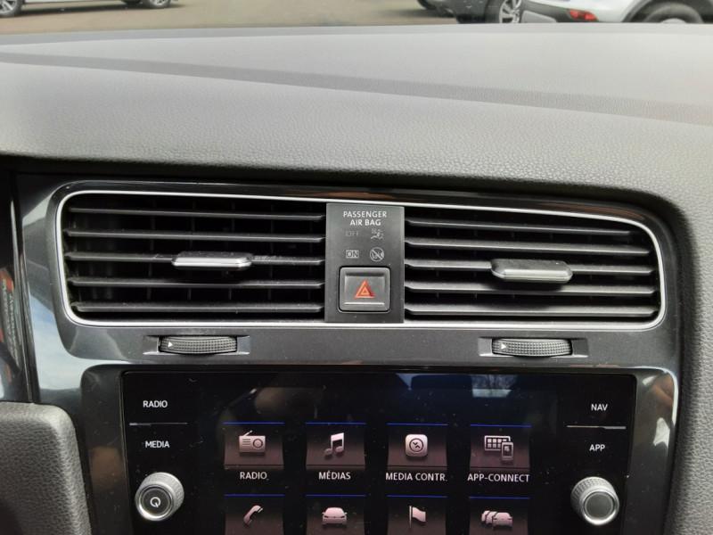 Photo 20 de l'offre de VOLKSWAGEN GOLF VII 1.6 TDI 115 BlueMotion Trendline à 13490€ chez Centrale auto marché Périgueux