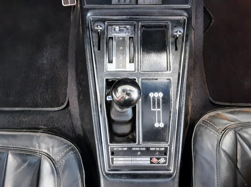 Photo 33 de l'offre de CHEVROLET CORVETTE C3 big Block 427ci V8 à 68000€ chez Centrale auto marché Périgueux