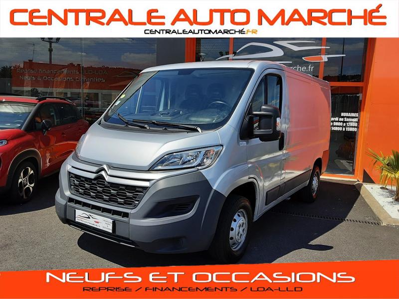 Photo 1 de l'offre de CITROEN JUMPER L1H1 BLUEHDi 130 BVM6 BUSINESS à 17500€ chez Centrale auto marché Périgueux