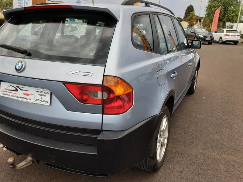 Photo 8 de l'offre de BMW X3 3.0d Luxe Steptronic A à 5200€ chez Centrale auto marché Périgueux