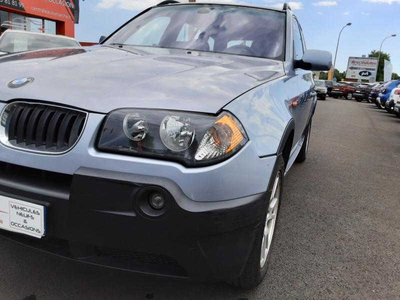 Photo 4 de l'offre de BMW X3 3.0d Luxe Steptronic A à 5200€ chez Centrale auto marché Périgueux