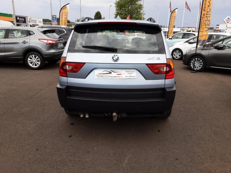 Photo 6 de l'offre de BMW X3 3.0d Luxe Steptronic A à 5200€ chez Centrale auto marché Périgueux