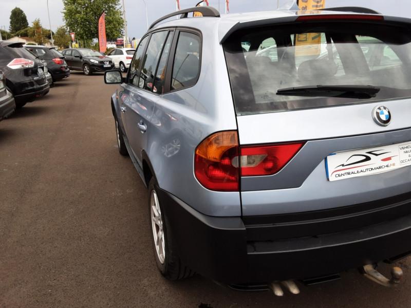 Photo 9 de l'offre de BMW X3 3.0d Luxe Steptronic A à 5200€ chez Centrale auto marché Périgueux