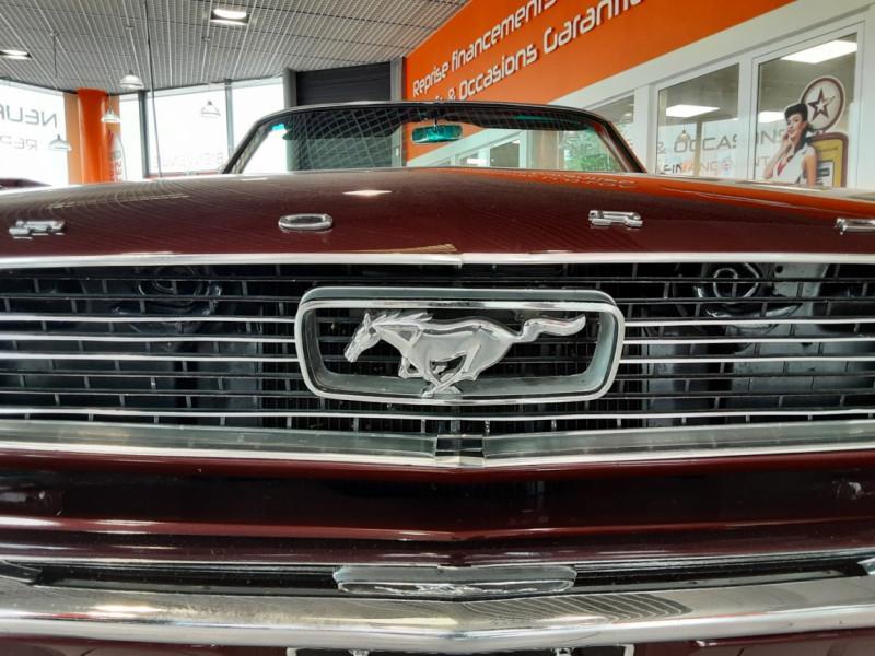 Photo 5 de l'offre de FORD MUSTANG CABRIOLET V8 289 CI à 45000€ chez Centrale auto marché Périgueux