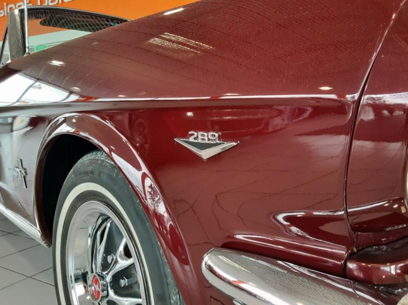 Photo 27 de l'offre de FORD MUSTANG CABRIOLET V8 289 CI à 45000€ chez Centrale auto marché Périgueux