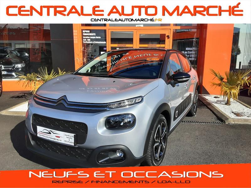 Photo 2 de l'offre de CITROEN C3 BlueHDi 100 SetS Shine Business à 13900€ chez Centrale auto marché Périgueux