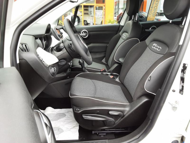 Photo 9 de l'offre de FIAT 500X 1.6 MultiJet 120 ch Popstar Business DCT à 16900€ chez Centrale auto marché Périgueux