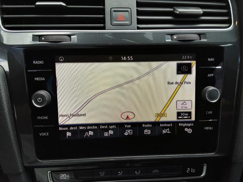 Photo 49 de l'offre de VOLKSWAGEN GOLF 7  TDI 115 BMT FAP Confortline Business à 17800€ chez Centrale auto marché Périgueux