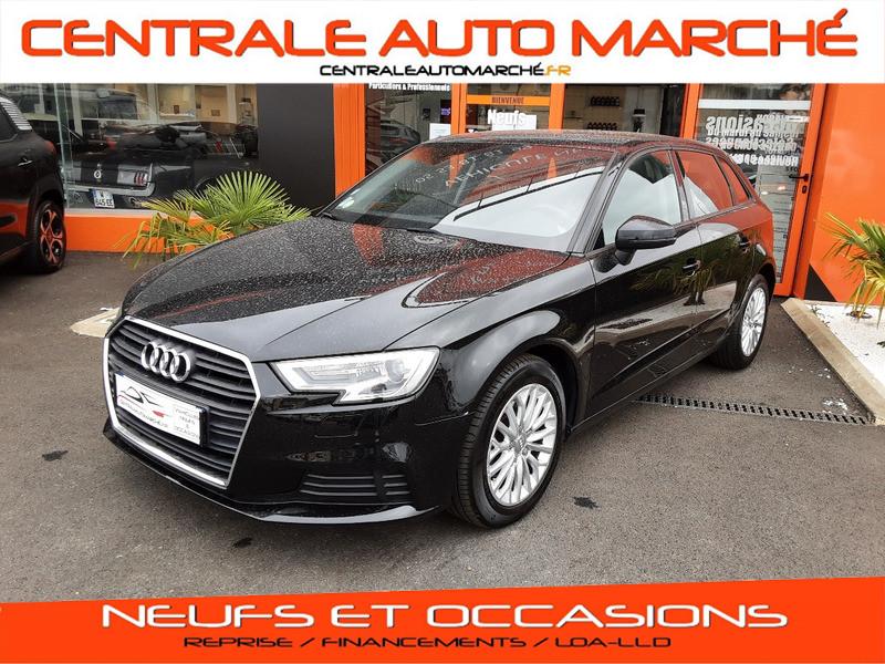 Photo 1 de l'offre de AUDI A3 Sportback 1.6 TDI 110 S tronic 7 à 18900€ chez Centrale auto marché Périgueux