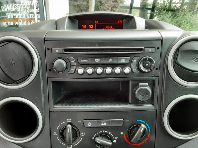 Photo 27 de l'offre de CITROEN BERLINGO 20 L1 e-HDi 90 CLUB à 9700€ chez Centrale auto marché Périgueux