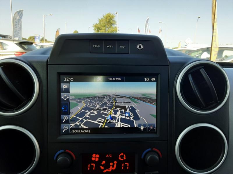 Photo 9 de l'offre de PEUGEOT PARTNER Tepee 1.6 BlueHDi 100ch SetS BVM5 Outdoor à 14990€ chez Centrale auto marché Périgueux