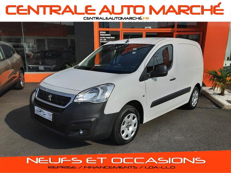 Photo 1 de l'offre de PEUGEOT PARTNER 1.6 BLUEHDI 100 SetS BVM5 PREMIUM PACK à 11990€ chez Centrale auto marché Périgueux