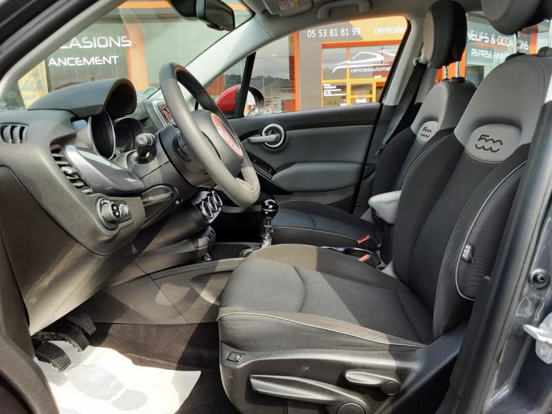 Photo 11 de l'offre de FIAT 500X 1.6 MultiJet 120 ch Popstar à 12500€ chez Centrale auto marché Périgueux