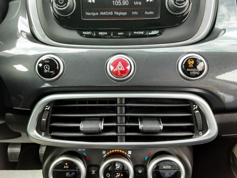 Photo 26 de l'offre de FIAT 500X 1.6 MultiJet 120 ch Popstar à 12500€ chez Centrale auto marché Périgueux