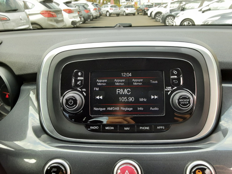 Photo 37 de l'offre de FIAT 500X 1.6 MultiJet 120 ch Popstar à 12500€ chez Centrale auto marché Périgueux