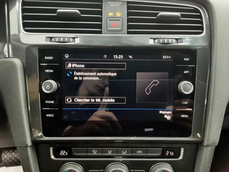 Photo 32 de l'offre de VOLKSWAGEN GOLF 2.0 TDI 150 BMT DSG7 Confortline à 20500€ chez Centrale auto marché Périgueux