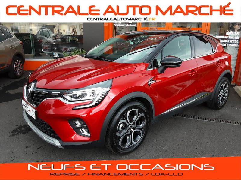 Photo 1 de l'offre de RENAULT CAPTUR TCe 100 Intens à 18900€ chez Centrale auto marché Périgueux