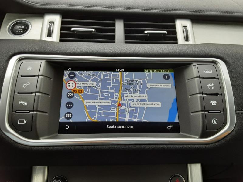 Photo 9 de l'offre de LAND-ROVER RANGE ROVER EVOQUE TD4 180 BVA Business à 27990€ chez Centrale auto marché Périgueux