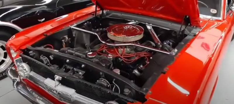 Photo 5 de l'offre de FORD MUSTANG COUPE 289 CI V8 Rouge à 38500€ chez Centrale auto marché Périgueux