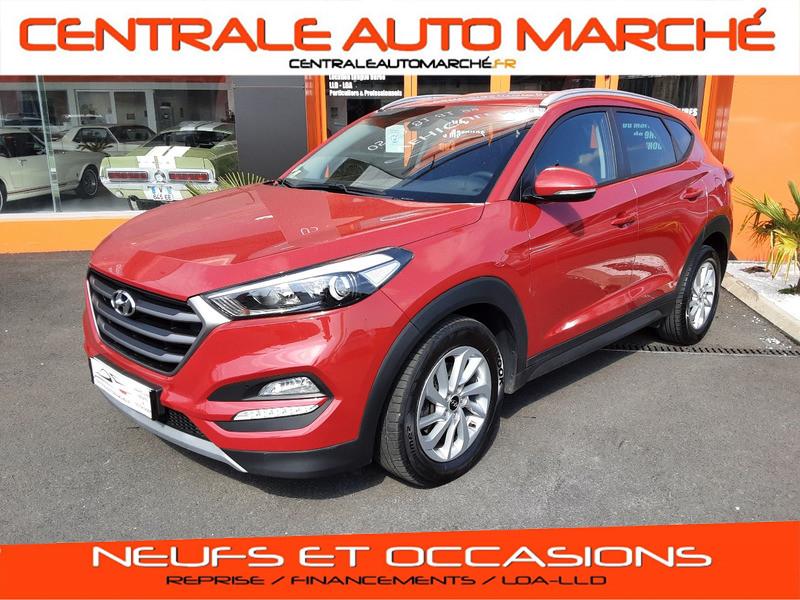 Hyundai TUCSON 1.7 CRDi 141 2WD DCT-7 Business GAZOLE  Occasion à vendre