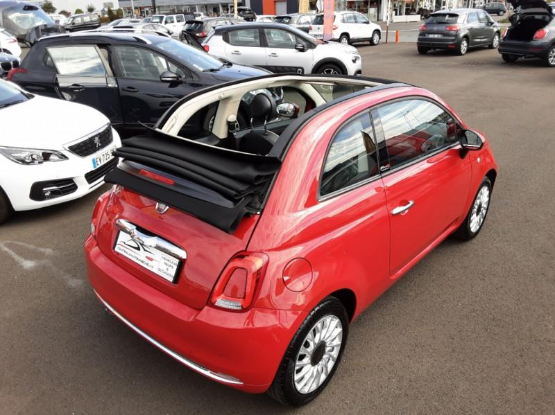 Photo 13 de l'offre de FIAT 500 C 1.2 69 ch Lounge  à 12990€ chez Centrale auto marché Périgueux