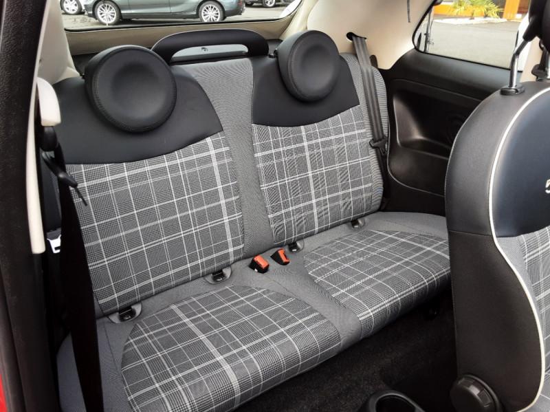 Photo 18 de l'offre de FIAT 500 C 1.2 69 ch Lounge  à 12990€ chez Centrale auto marché Périgueux