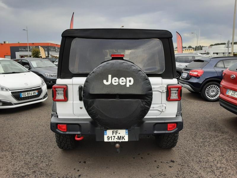 Photo 39 de l'offre de JEEP WRANGLER Unlimited 2.2 l MultiJet 200 ch 4x4 BVA8 Rubicon à 54990€ chez Centrale auto marché Périgueux
