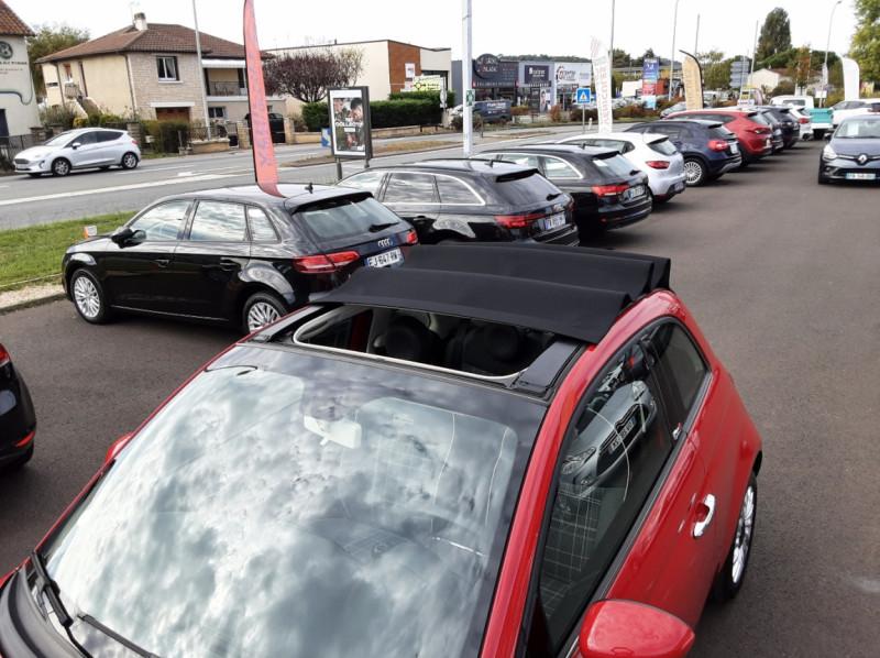 Photo 15 de l'offre de FIAT 500 C 1.2 69 ch Lounge  à 12990€ chez Centrale auto marché Périgueux