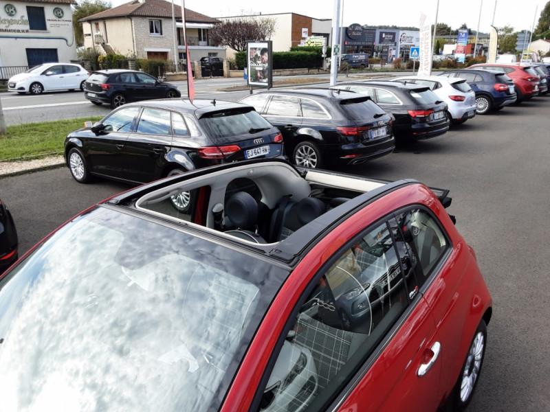 Photo 11 de l'offre de FIAT 500 C 1.2 69 ch Lounge  à 12990€ chez Centrale auto marché Périgueux