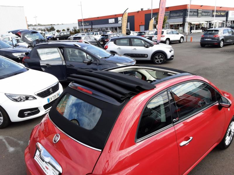 Photo 14 de l'offre de FIAT 500 C 1.2 69 ch Lounge  à 12990€ chez Centrale auto marché Périgueux