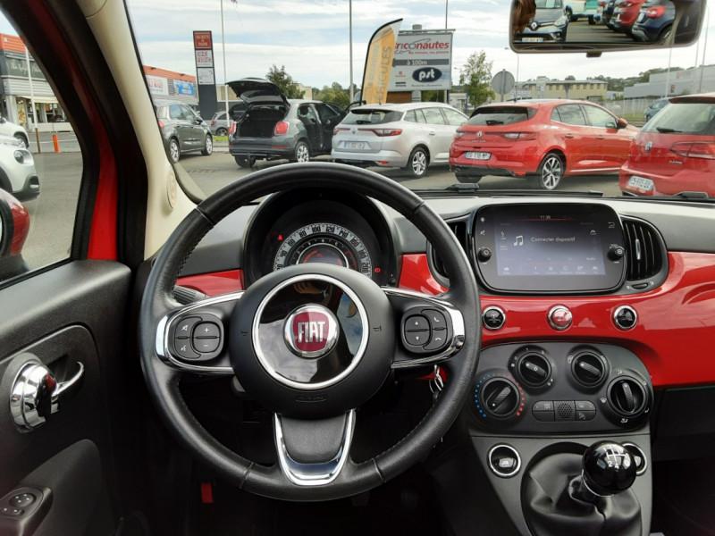 Photo 7 de l'offre de FIAT 500 C 1.2 69 ch Lounge  à 12990€ chez Centrale auto marché Périgueux