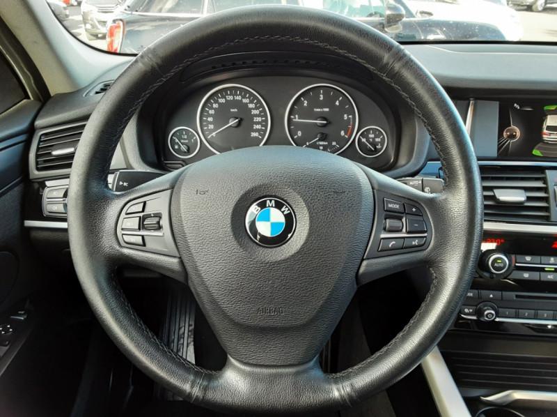 Photo 12 de l'offre de BMW X3 sDrive18d 150ch BUSINESS A à 23990€ chez Centrale auto marché Périgueux
