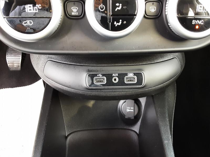 Photo 28 de l'offre de FIAT 500X 1.6 MultiJet 120 ch Popstar  à 17490€ chez Centrale auto marché Périgueux