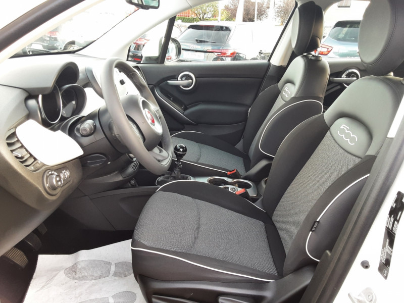 Photo 10 de l'offre de FIAT 500X 1.6 MultiJet 120 ch Popstar  à 17490€ chez Centrale auto marché Périgueux