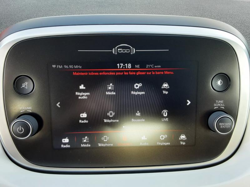 Photo 45 de l'offre de FIAT 500X 1.6 MultiJet 120 ch Popstar  à 17490€ chez Centrale auto marché Périgueux