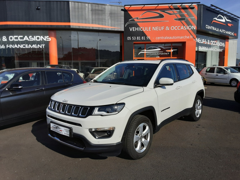 Jeep COMPASS 1.6 I MultiJet II 120 ch BVM6 LIMITED Diesel  Occasion à vendre
