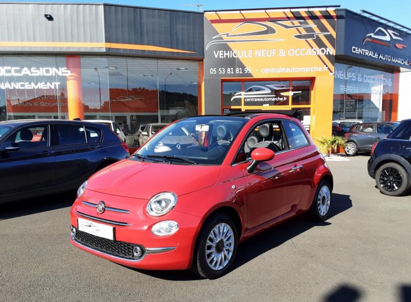 Photo 1 de l'offre de FIAT 500 C 1.2 69 ch Lounge  à 12990€ chez Centrale auto marché Périgueux
