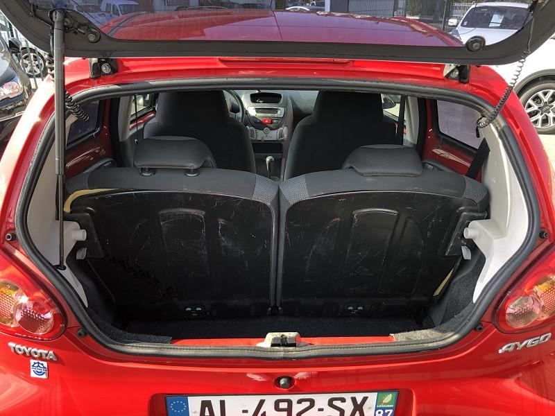 Photo 7 de l'offre de TOYOTA AYGO 1.0 68 CONFORT CLIM 5PORTES GAR3MOIS à 3850€ chez Triplo auto