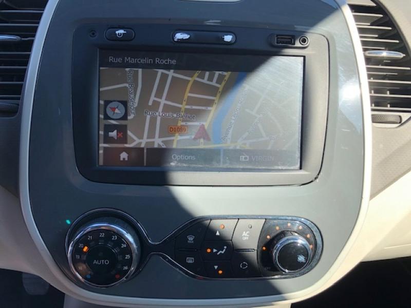 Photo 14 de l'offre de RENAULT CAPTUR 1.5DCI 90  INTENS S&S GPS GAR3MOIS à 8990€ chez Triplo auto