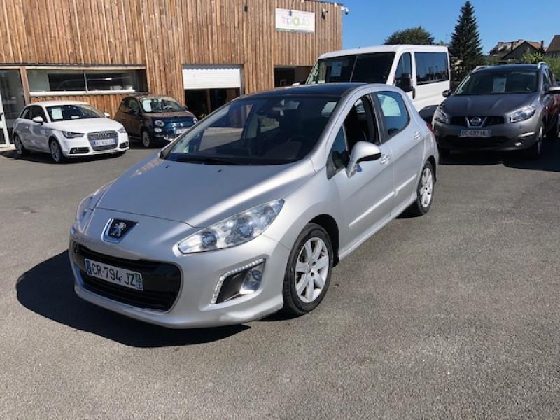 Peugeot 308  1.6 E-HDI 112 ALLURE GPS ATTELAGE Diesel GRIS Occasion à vendre