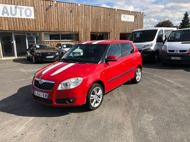 Skoda FABIA 1.9 TDI105 RS LINE CLIM GAR3M DISTRI OK Diesel ROUGE Occasion à vendre
