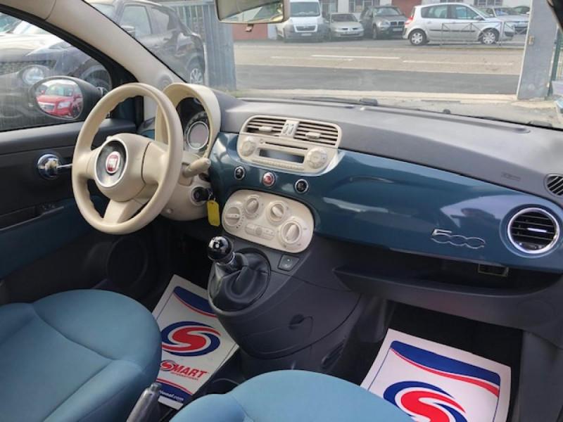 Photo 13 de l'offre de FIAT 500 1.2I - 69 POP DISTRI ENTRETIEN OK à 4990€ chez Triplo auto