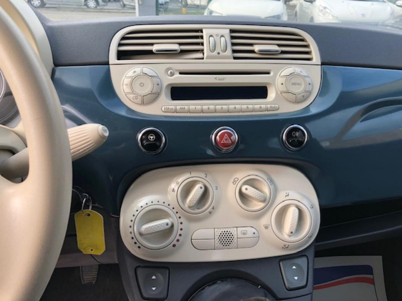 Photo 17 de l'offre de FIAT 500 1.2I - 69 POP DISTRI ENTRETIEN OK à 4990€ chez Triplo auto