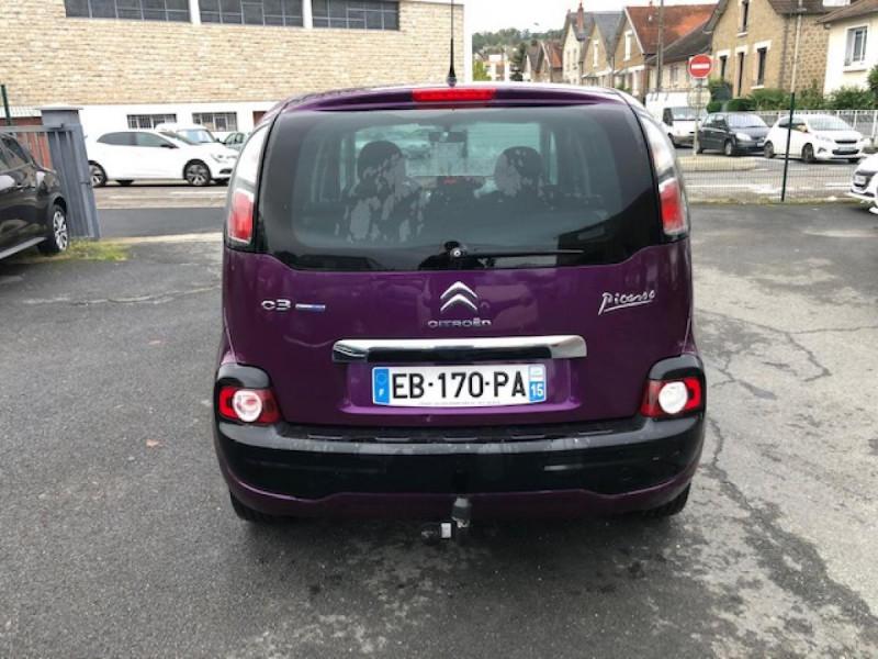 Photo 4 de l'offre de CITROEN C3 PICASSO 1.6 HDI100  CONFORT CLIM ATTELAGE à 8990€ chez Triplo auto