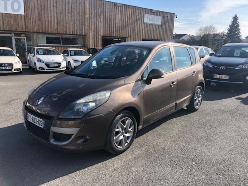 Renault SCENIC 1.5DCI110 EXPRESSION GPS RADAR Diesel MARRON Occasion à vendre