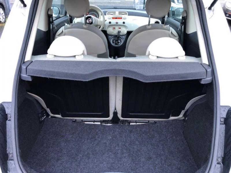Photo 8 de l'offre de FIAT 500 1.2I69 S&S BVA LOUNGE CLIM RADAR TOITOUVRANT à 7990€ chez Triplo auto