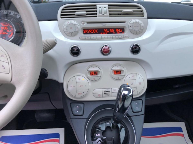 Photo 15 de l'offre de FIAT 500 1.2I69 S&S BVA LOUNGE CLIM RADAR TOITOUVRANT à 7990€ chez Triplo auto