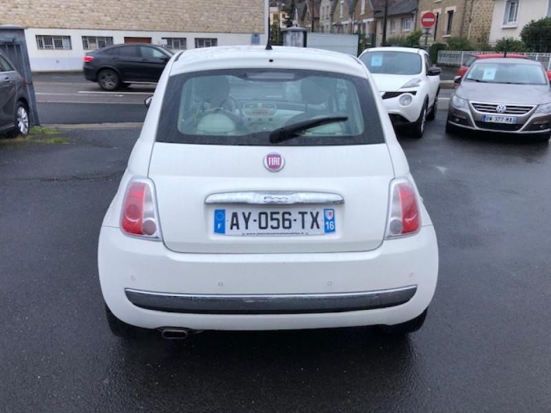 Photo 4 de l'offre de FIAT 500 1.2I69 S&S BVA LOUNGE CLIM RADAR TOITOUVRANT à 7990€ chez Triplo auto